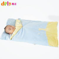 Baby sleeping bag autumn and winter thickening dual holds newborn anti tipi baby sleeping bag