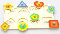 New arrival Wooden Shape Puzzle, Clutch Plate,Early LearningToy,3d Puzzle Wooden Toys
