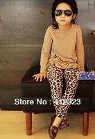 Hot children Girls' Leopard Leggings kids Children Fashion Pants Kids Trousers for Autumn clothes