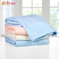 Ultra soft bamboo fibre vlsivery large thickening towel wool baby newborn baby bath towel