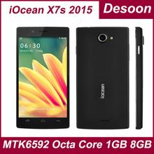 iOcean X7 Original iOcean phone x7-HD X7 HD 3G WCDMA 900/2100 Quad Core MTK6582 1.3Ghz 8MP 1G+8G android4.2 iOcean X7s / Linda(China (Mainland))