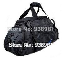 HOT!Free Shipping 2014 New Fashion Casual Barrel Sports Bag Shoulder Messenger Bag Cylinder Gym Totes,Men's Duffle Bag+Shoe Bit