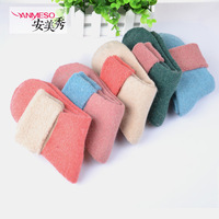 New Arrival Facotry cost price Wool socks female rabbit fur thickening cashmere thermal loop pile socks towel socks thick sock