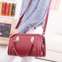 free shipping Vintage bags 2014  women handbag PU leather rivet shaping bag handbag shoulder bag  mastermind bag messenger bags