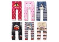 NEW Arrival Children Kids PP Pants Long Trousers Cartoon Legging Cotton Baby Boys Girls Wear Hot Sale Free Shipping