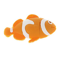 Fish Shaped USB Flash Drive Rubber 4GB 8GB 16GB 32GB 64GB Free Shipping