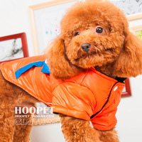 O teddy bear dog clothes pet wadded jacket down coat pet clothes dog clothes autumn and winter b
