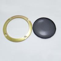 3 inch golden car speaker grill