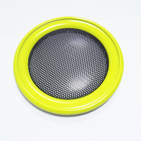 3 inch golden car speaker grill,Free shipping