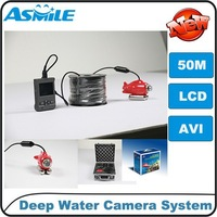 50m Flexible Underground Deep Water Camera   with board camera