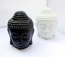 Buddha candle aromatherapy furnace ceramic aromatherapy lamp candle aroma furnace oil lamp essential oil burner home decor(China (Mainland))