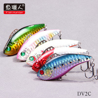 Fish Hunter DV2C Vib Hard Fishing Lures  60mm/12.5g  Vibration 3D eyes