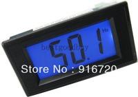 AC 150-450V 10Hz-199.9Hz Blue LCD digital frequency meter cymometer panel meters