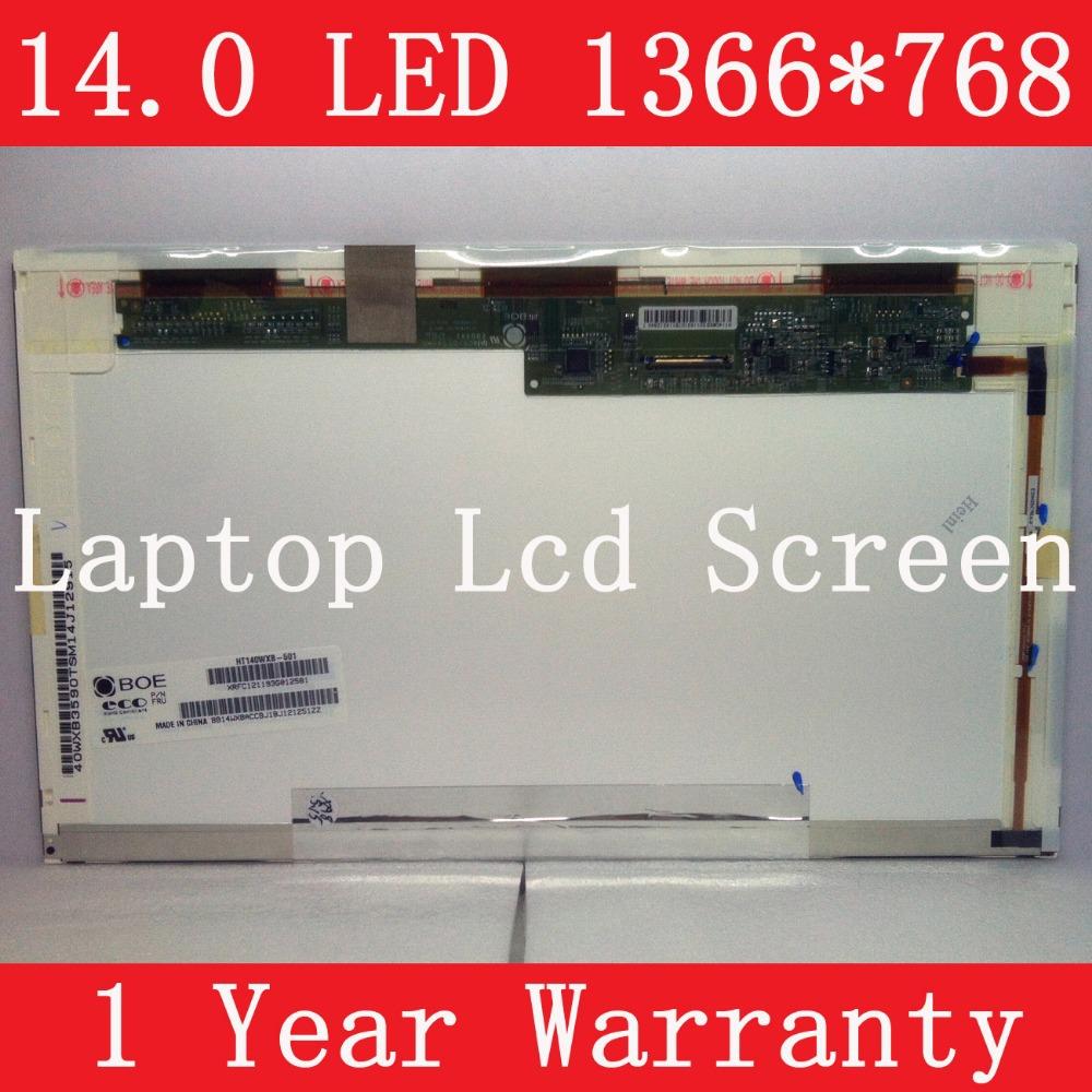 "HT140WXB-501, 14.0"" LAPTOP LCD SCREEN, Brand new, 1 year warranty, Grade A+(China (Mainland))"