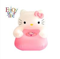 Free shipping Portable Hello Kitty Children Sofa, Lovely Kids inflatable sofa, children's cartoon inflatable sofasofa