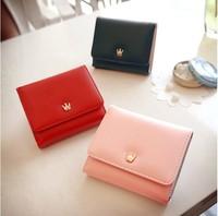 Promotion ! 2014 Fashion Women wallet King Tote PU Leather Clutch cute girl wallets Clutch Purse Women  Wallets,Free shipping