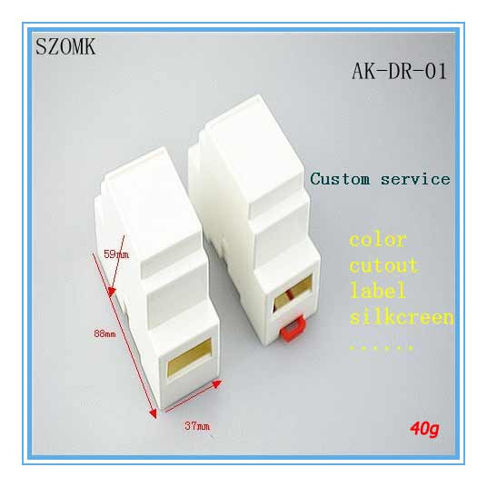 50 pieces a lot , 88*37*59MM 3.5*1.5*2.3inch , electrical box distribution(China (Mainland))