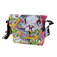 New brand name handbag sweet personality style cartoon creative bag shoulder messenger bag SO-289