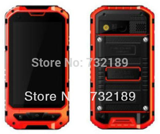 original outdoor phone MTK6572 Dual Core Android Gorilla glass A8 IP68 rugged Waterproof phone Senior shockproof 3G GPS Russian(China (Mainland))