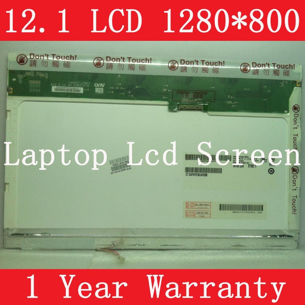 "LTD121EW7V N121I6-L02 LTN121W3-L01, 12.1"" LAPTOP LCD SCREEN, CCFL backlight, WXGA resolution (1280*800 P), 1 year warranty(China (Mainland))"