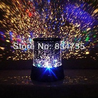 New Dreamlike Colorful Star Master Night Light Novelty Amazing LED Sky Star Master Light Projector Lamp Night Lamp No Battery