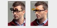 free shipping Clip daily night men and women myopia polarized sunglasses clip eyewear fashion goggles