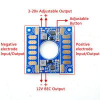 5V 12V Adjustable Voltage Dual BEC Output Board ESC Distribution Connection Boar