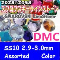 Hot Sale Rhinestone 1440pcs/Lot ss10 2.9mm Mixed Colors  HB924D-S10