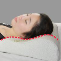 3pcs/Lot Bamboo Fiber Cover 30x50 Slow Rebound Sleeping Massage Pillow Memory Foam Pillow Cervical Health Care 15234
