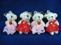 Freeshipping  wholesale plush toy toys doll heavly novelty small dolls joint bears bear