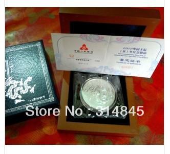2012 dragon 1 ounce silver dragon grey silver grey dragon(China (Mainland))