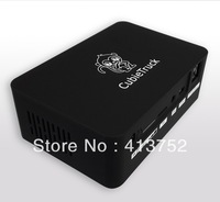 Free shipping Cubieboard3 Cubietruck Case Black Color Black Box Lithium batteries are compatible 2.5-inch hard drive