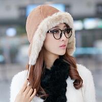Siggi hat female winter thickening earmuffs winter hat lei feng cap snow cap skiing hat