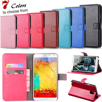 2014 New Retro Case for Samsung Galaxy Note 3 N9000 Luxury Note3 Wallet Stand Leather Cover Free Screen Protector RCD HLC0122