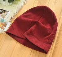 New Fashion Winter Unisex Solid Color Elastic Hip hop Cap Beanie Hat