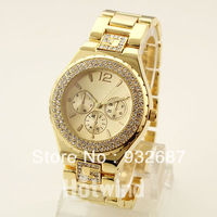 High Quality Brand Watch With Diamond For Women 2014Fashion New Ladies's Bracelet Wristwatches Wholesales Clock Sale