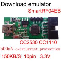 CC2530 CC1110 series download emulator smartRF04EB ZigBee supporting module