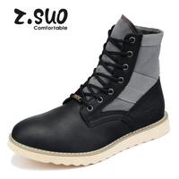 Free shipping medium-leg martin boots, men's high boots, fashion high-leg men's boots, boot for men