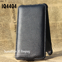 [( Factory outlets )] Open up and down Cover case for FLY IQ4404 Beyond youth edition flip Real leather case + free shipping