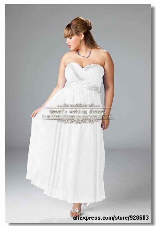 Plus Size Wedding Dresses Under $100 - Formal Dresses