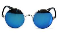 free shipping brand new retro round frame sunglasses men and women fashion glasses Universal eyewear wholesale goggles