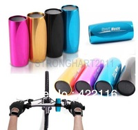 Ultra Portable Mini Speaker FM Radio Micro SD/TF MP3 Player Music used in Sport Bicycle Bike Rose Red/Gold/Black/Blue,Free ship