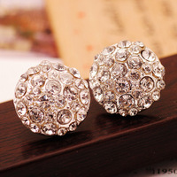 26 fashion earrings earring female rhinestone stud earring small accessories