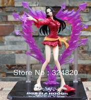 HOT SALES/FREE SHIPPING Japanese Anime Cartoon Action Figure One Piece Sexy Boa Hancock Battle Figures PVC 18cm Collection Model