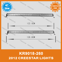 "50"" LED offroad light bar 10W/pcs led offroad light bar in 50"" KR9018-260"