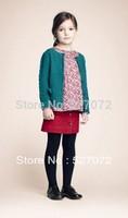 New fashion!2014 spring new designer girls sweater ,girl's brand sweater,European design children cardigan.Kids time