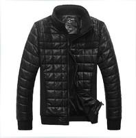2013 new autumn winter overcoat warm men's clothes casual coats medium-long slim cotton man's jackets Free shipping 4 colors
