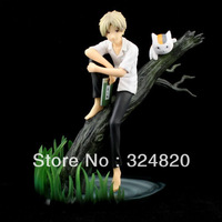 FREE SHIPPING/HOT SALE Japanese Anime Cartoon Action Figure Natsume Yuujinchou Natsume Takashi.20cm PVC Model Cartoon Fans gifts