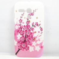 Pink Sakura Flower Hard Back Case Cover Skin For Motorola Moto G