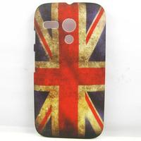 RETRO UK FLAG United Kingdom Flag Hard Back Case Cover Skin For Motorola Moto G